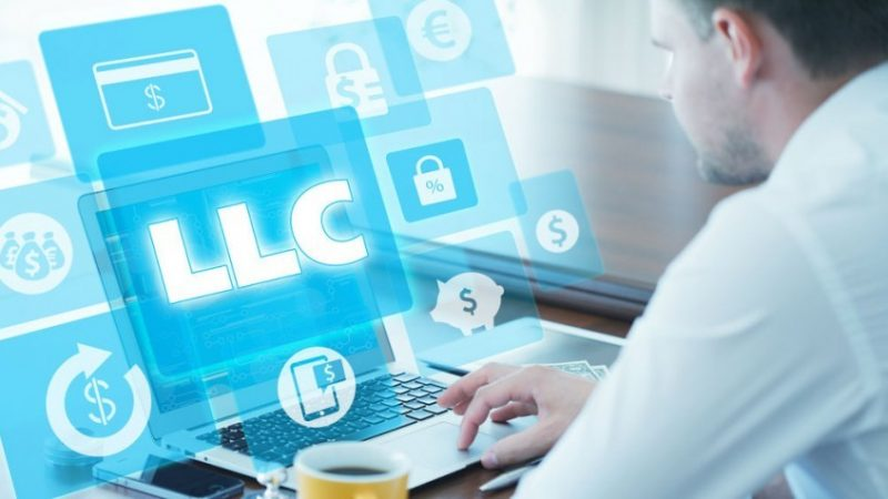 The importance behind mentioning the LLC Organizers' address as same as the service of the process address